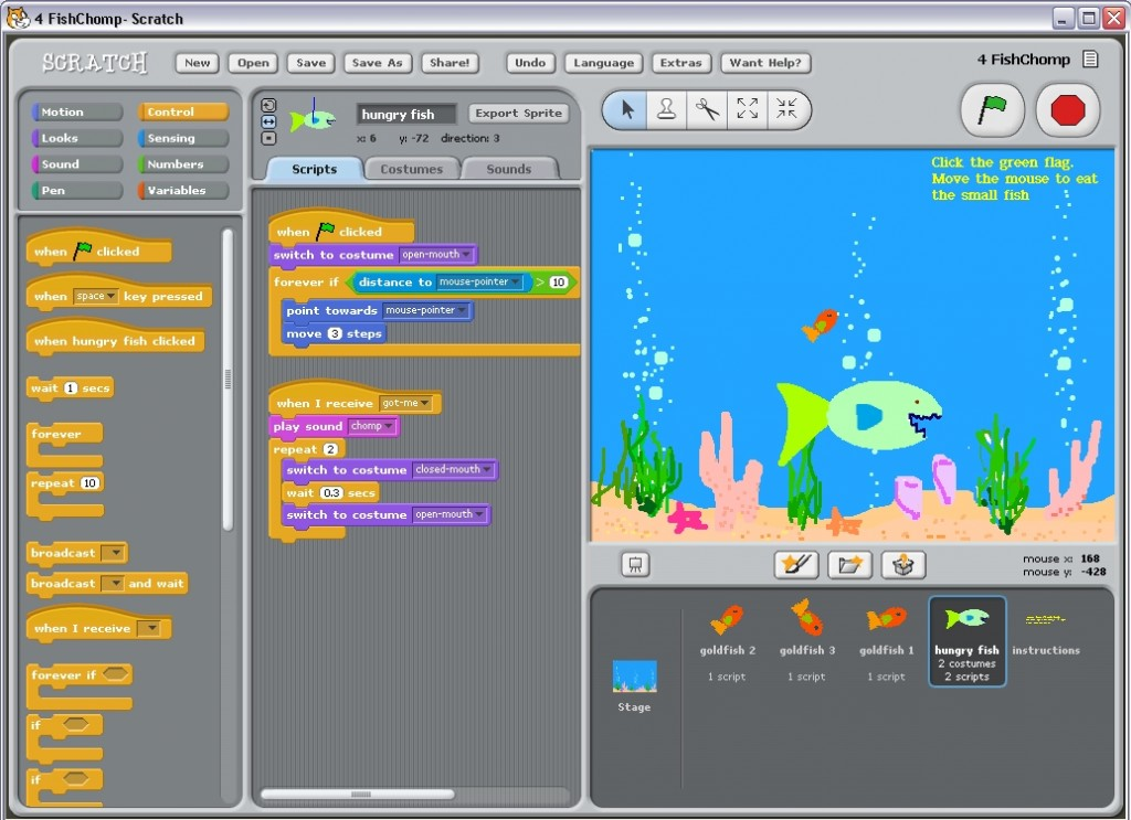 Scratch - Teaching kids to code