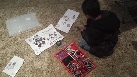 Lego Mindstorm Building
