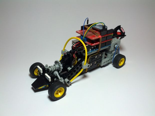 Inspired To Educate - 5 DIY Projects Involving Lego, Arduino, and Motors