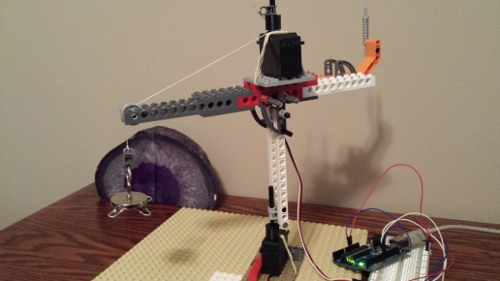Inspired To Educate - How to build a Lego Crane using Arduino ...