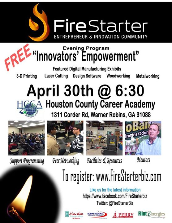 Firestarter in Warner Robins,GA