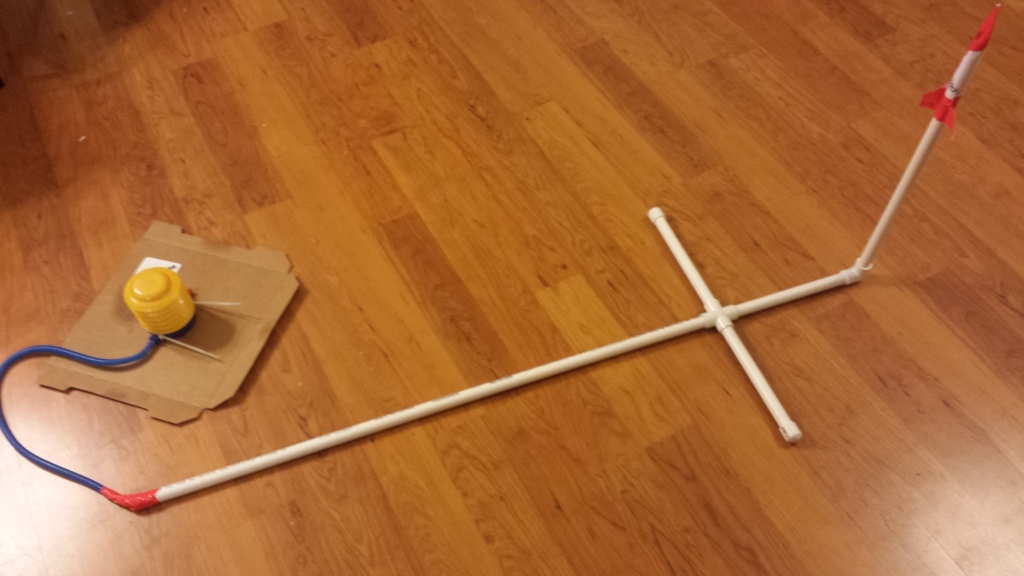 Stomp Rocket Launcher