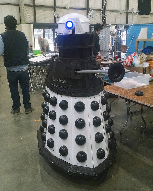 Dalek at MakerFaire